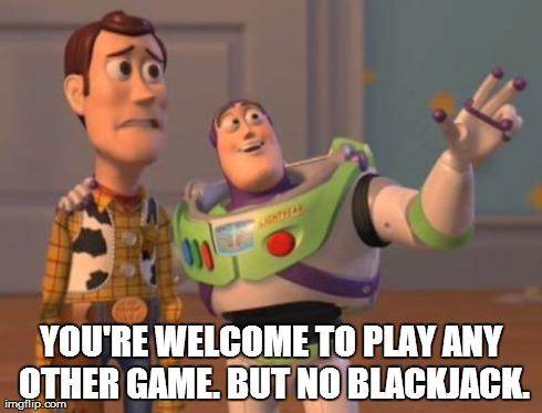 Blackjack Terms - Backoff