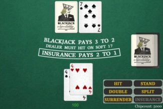blackjack training drills screenshot