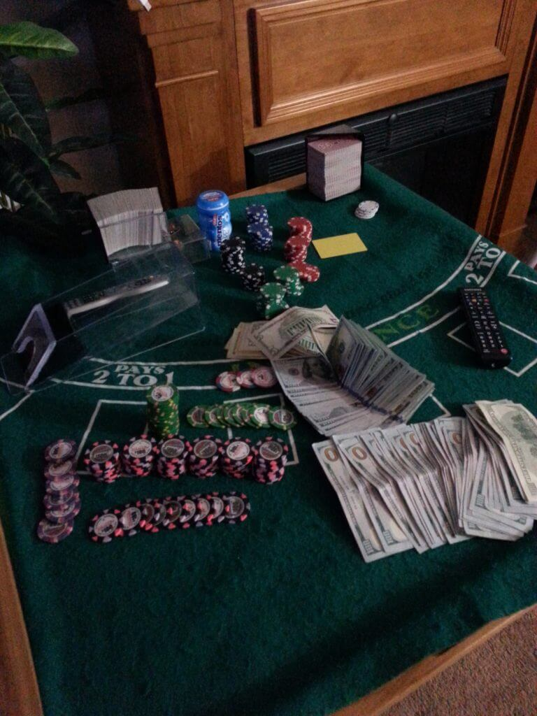 blackjack home setup