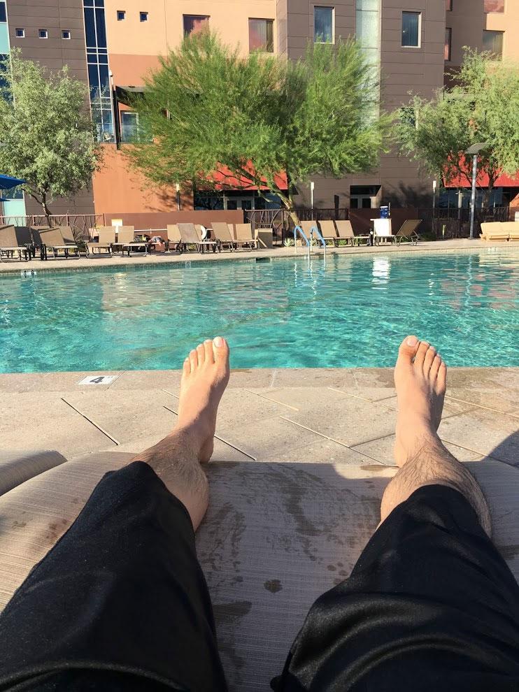 Pool Relaxing