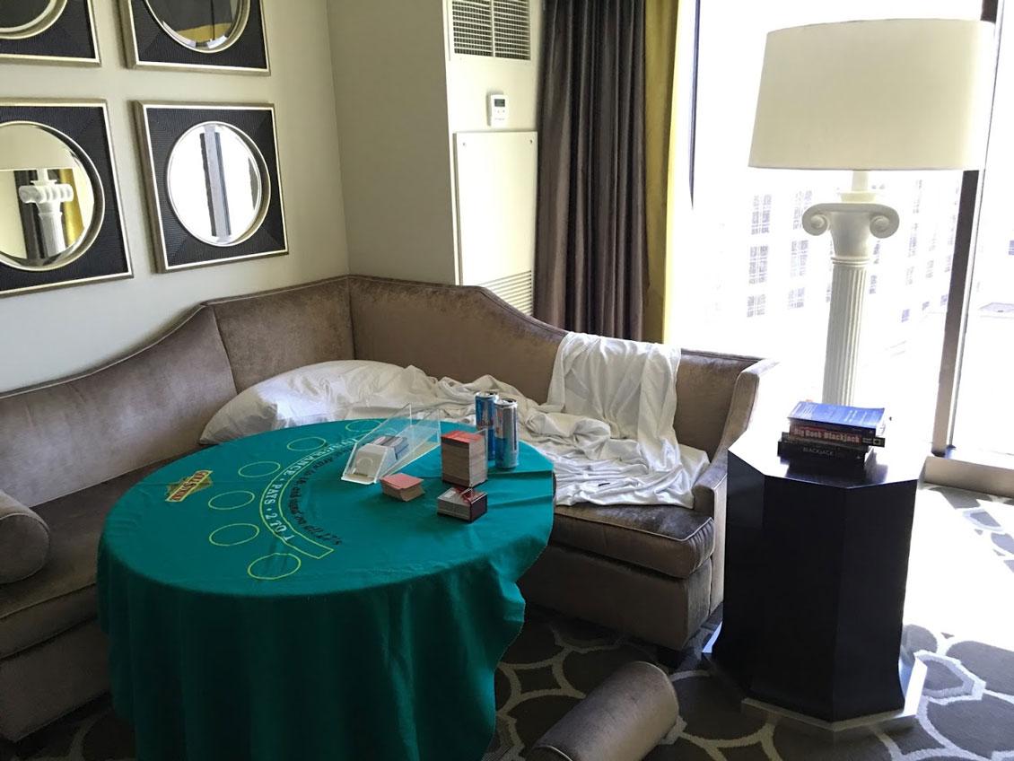 Vegas Hotel Suite