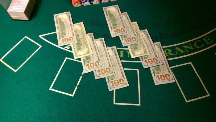 How to Play Blackjack - The Buy-in.