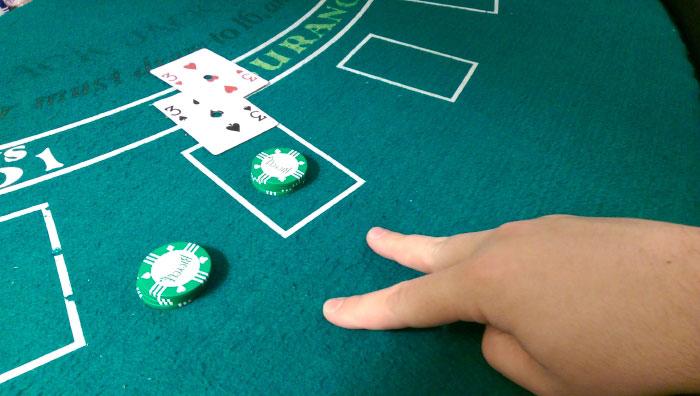 Hand Signal for Split