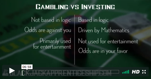 Free Mini Course Gambling vs Investing