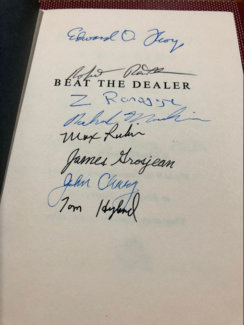 Beat The Dealer Autographs